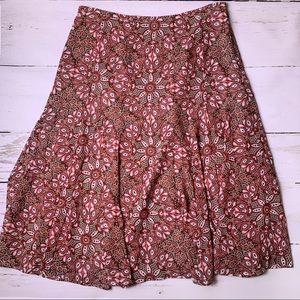 ✨Loft Foral Midi Skirt